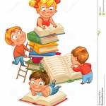 dziecko-czytelnicze-książki-w-bibliotece-36282021